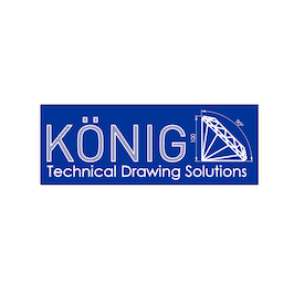 König Technical Drawing Solutions Logo