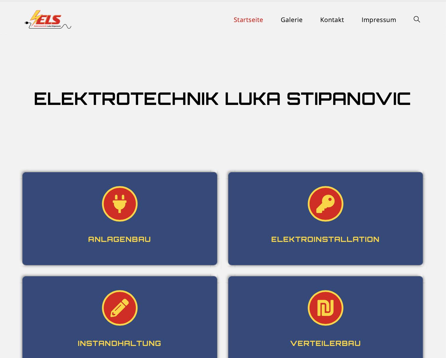 ELS Webseite