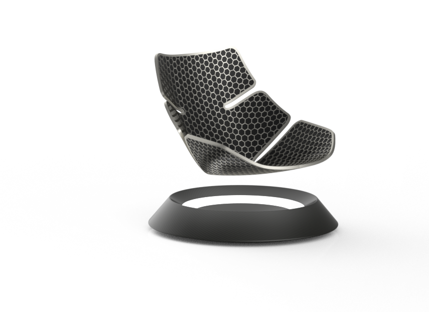 Solidworks Sessel bearbeitet
